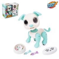 """Робот-питомец радиоуправляемый, интерактивный """"Пёс"""", работает от аккумулятора, №SL-03043B   45037"""