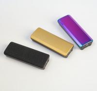 Зажигалка электронная, USB, спираль, фонарик, микс, 2.5х7.5 см 3018093