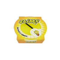 """Игрушка ТМ """"Slime """"Mega"""", светится в темноте, желтый, 300 г."""