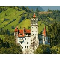 Картина по номерам 40*50 см, Замок Дракулы