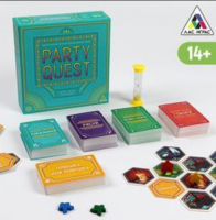 """Настольная игра на объяснения слов """"PARTY QUEST. Говори, рисуй, показывай""""   5239150"""