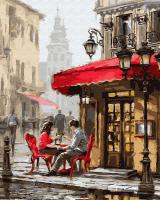 Картина по номерам 40*50 см, Романтичный закуток