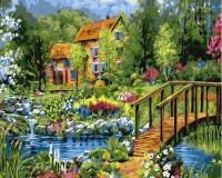 Картина по номерам 40*50 см, Загородный пейзаж