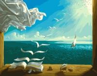 Картина по номерам 40*50 см, Поэзия