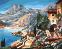 Картина по номерам 40*50 см, Средиземноморье