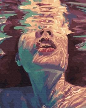 Картина по номерам 40*50 см, Под водой