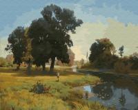 Картина по номерам 40*50 см, Река Гнилица