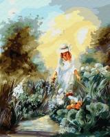 Картина по номерам 40*50 см, Бранвен, богиня весны